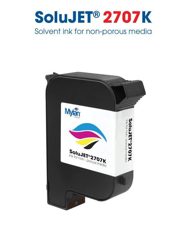 Solujet  2706K  Solvent Bazlı Siyah HP45 Kartuş