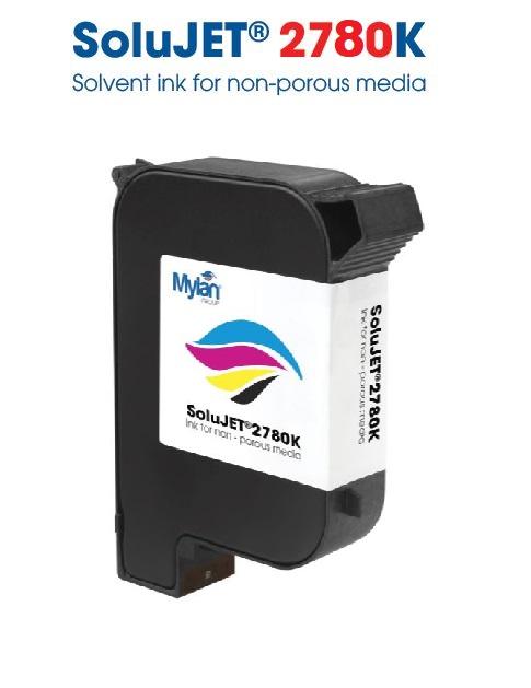 Solujet  2780K  Solvent Bazlı Siyah HP45 Kartuş